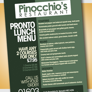Premier Print UK print A4 folded to A5 4pp flyers