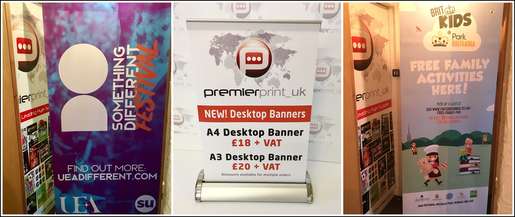 The secret to a successful roller banner | PremierPrint UK - East Anglia's fastest print supplier to East Anglia.