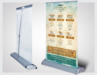 Premier Print UK desktop pop up banner A4