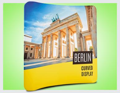 Premier Print UK Berlin curved display