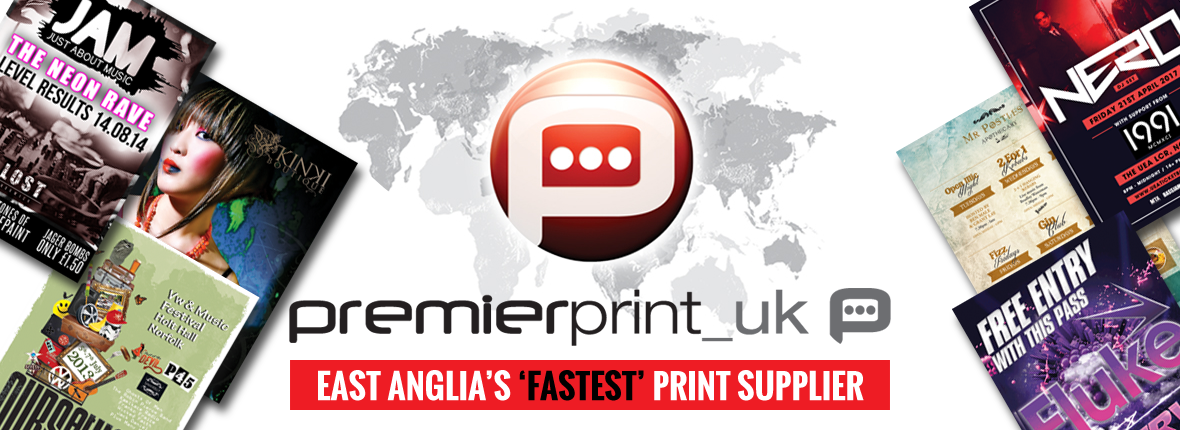Premier Print UK | East Anglia's Fastest Print Supplier