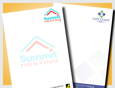 Premier Print UK print letterheads in full colour