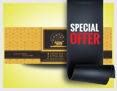 Premier Print UK 6ft x 2ft Special Offer vinyl banner