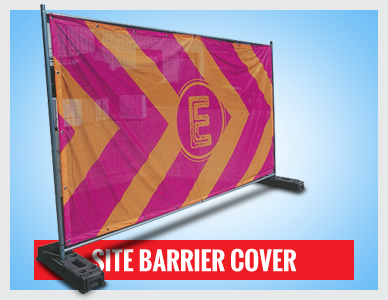 Premier Print UK site barrier cover