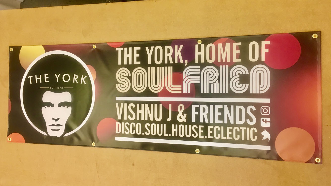 Soul Fried banner printed by Premier Print
