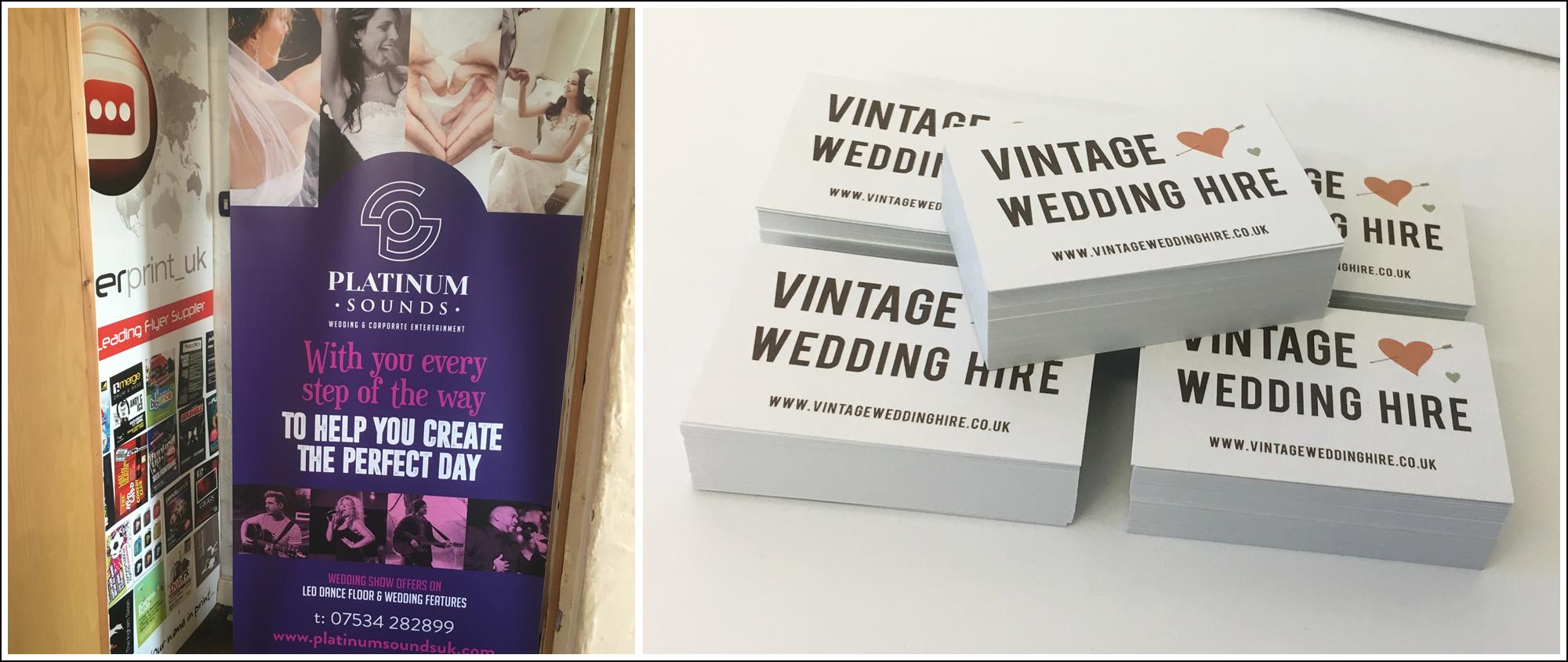 Wedding Show Printing header for Premier Print