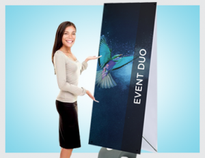 Event Duo Banner Stands | Premier Print UK | Fastest Printers in Norwich!